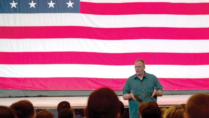 Deputy Secretary of Defense stops in Guam on Asia-Pacific tour