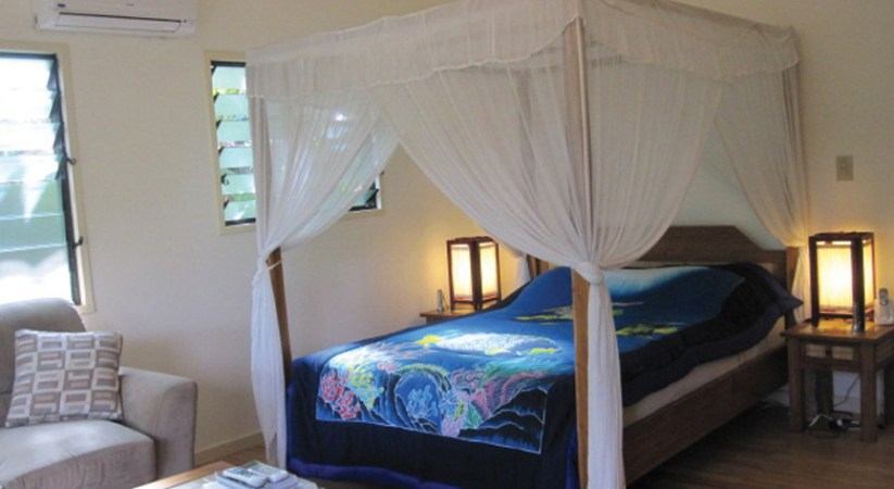 One-room B&B takes Palau visitors 'away from the chaos'  By Bernadette H. Carreon,  Palau Correspondent