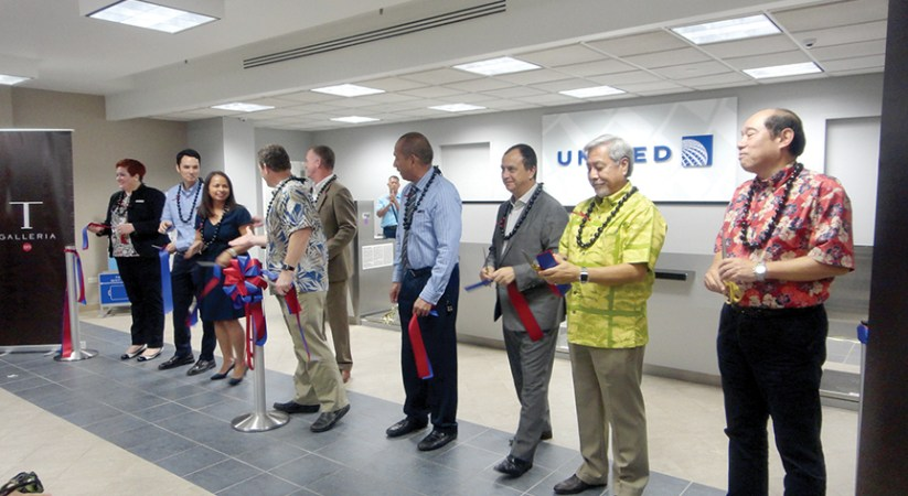 Tumon Central Air Terminal opens in T Galleria