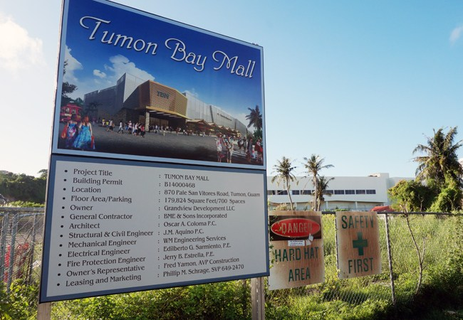 Tumon Bay Mall still looking for anchor tenant, exterior to be completed by end of year