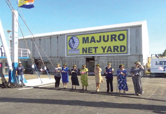 Majuro dock and net repair facility to boost economy