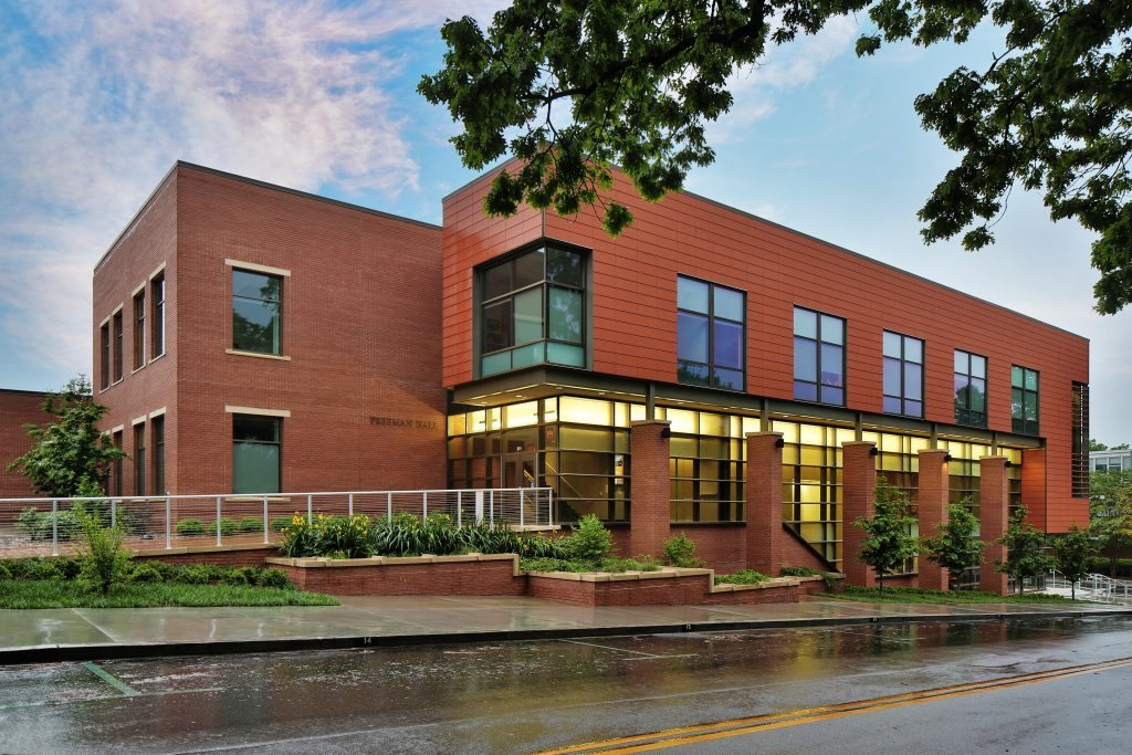 Clemson University Freeman Hall  M B Kahn Construction