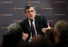 Gordon Brown (Picture by Reauters)