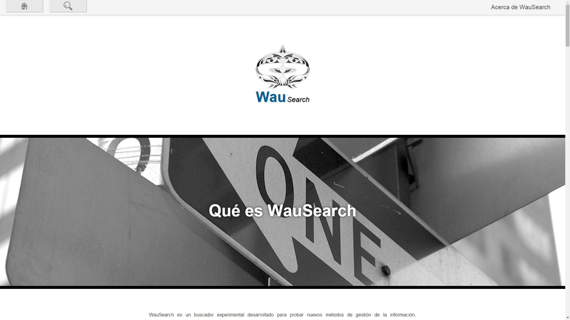Información relativa al proyecto WauSearch