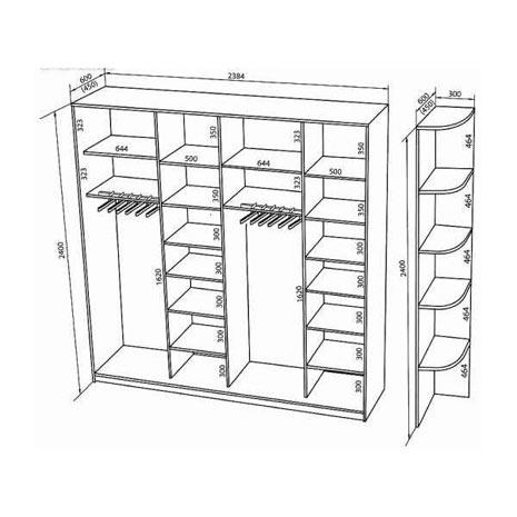 Как сделать встроенный шкаф