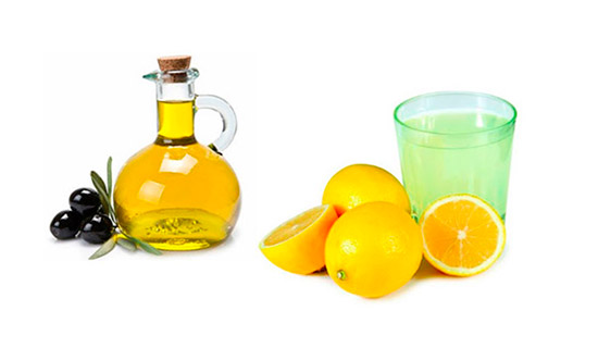Application of olive oil for polishing furniture