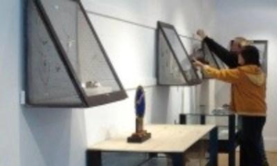 Gallery exhibit installation