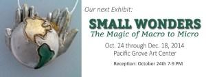 Small Wonders - Upcoming Exhibit