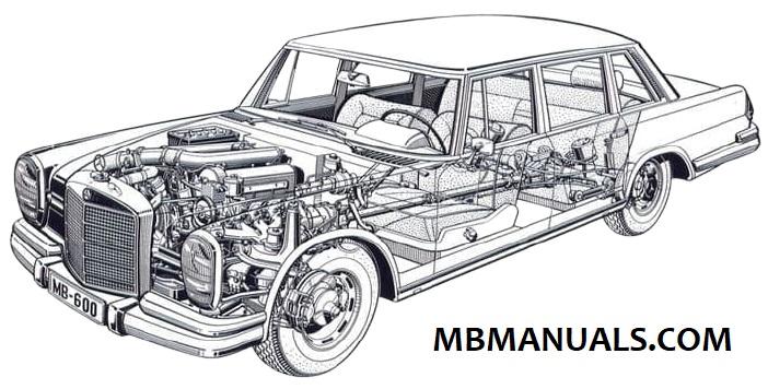 Mercedes Benz 100 W100 Service Repair Manual .pdf