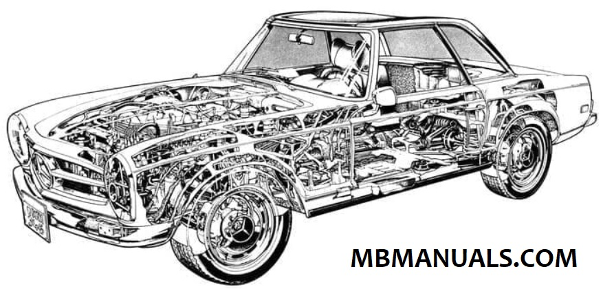 Mercedes Benz 113 W113 Service Repair Manuals