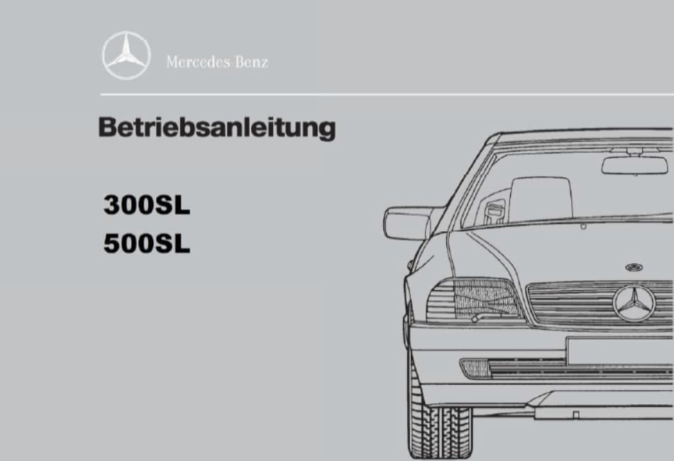 Mercedes Benz Manuals
