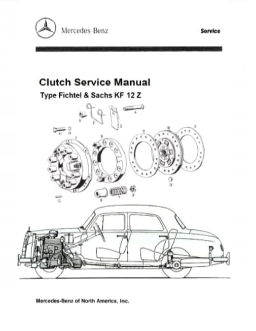 Mercedes Benz 180 W180 Service Repair Manuals