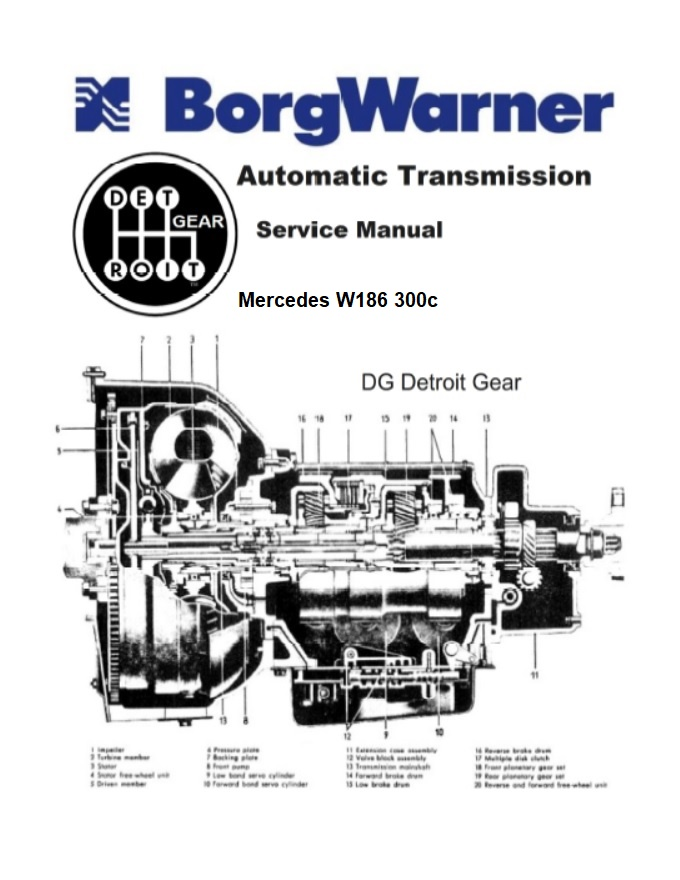 Mercedes Benz 186 W186 Service Repair Manuals