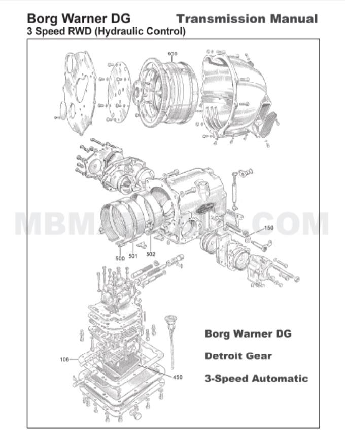 Mercedes Benz 186 W186 Service Repair Manuals
