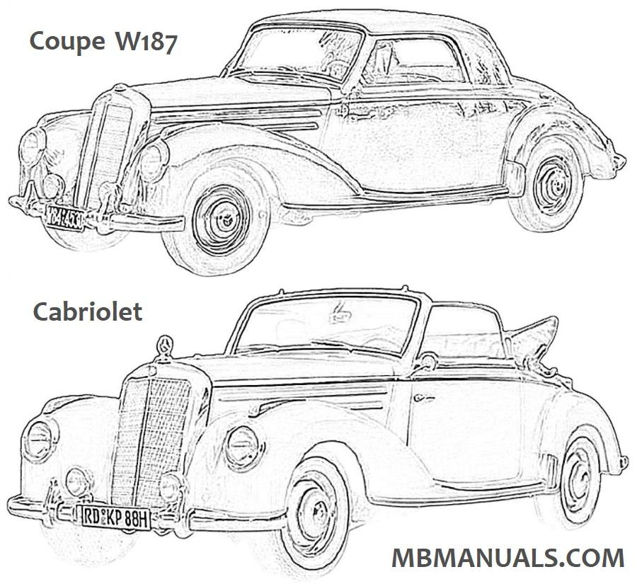 Mercedes Benz 187 W187 Service Repair Manual .pdf