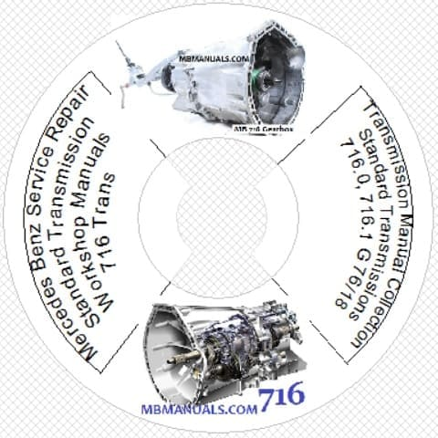 Mercedes Benz 716 Standard Transmission Manuals