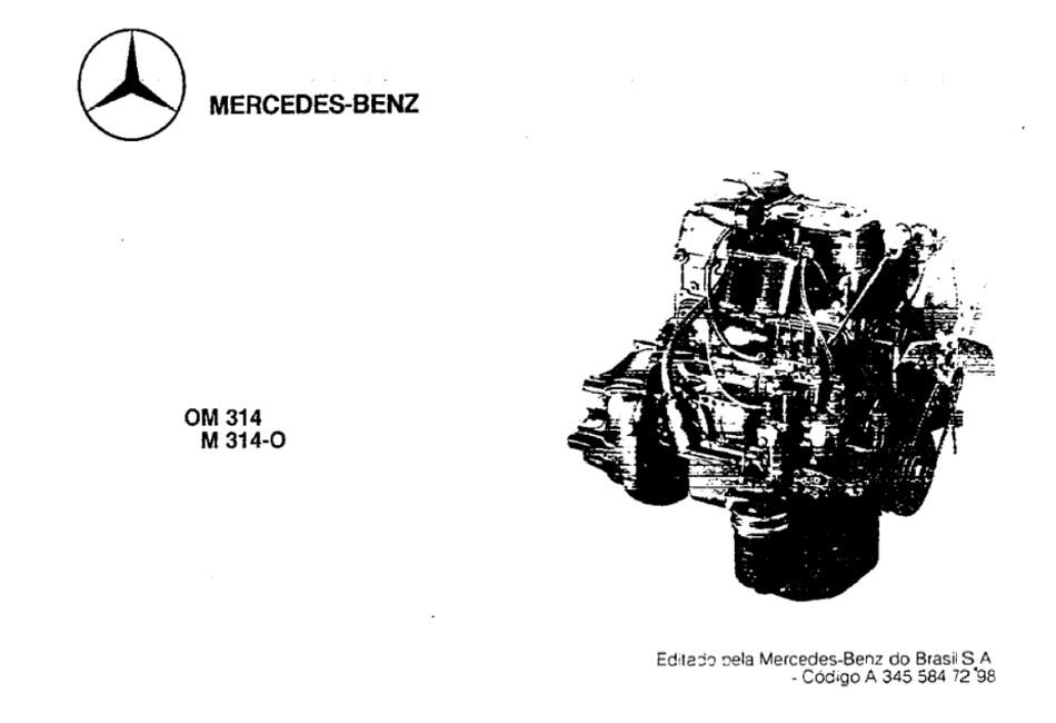 Mercedes Benz OM314 Diesel Engine Service Repair Manual .pdf