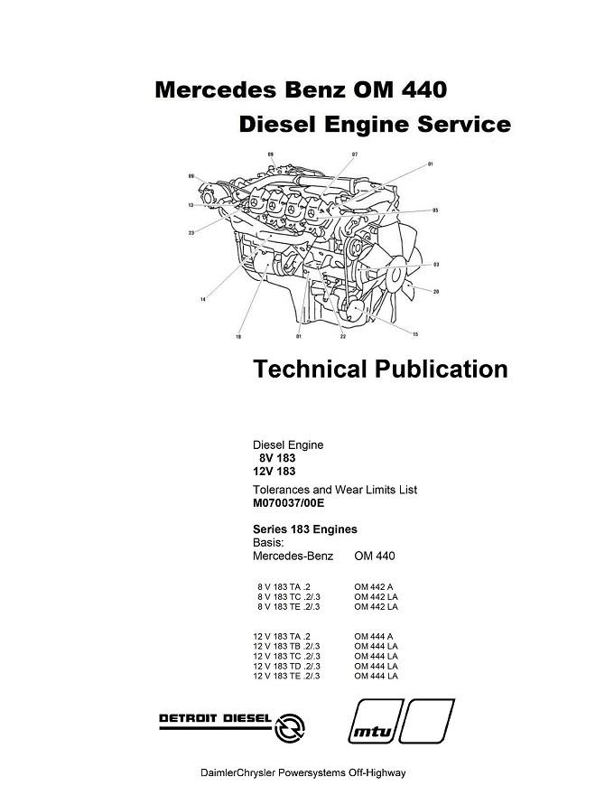 Mercedes Benz OM444 Diesel Engine Service Repair Manual .pdf