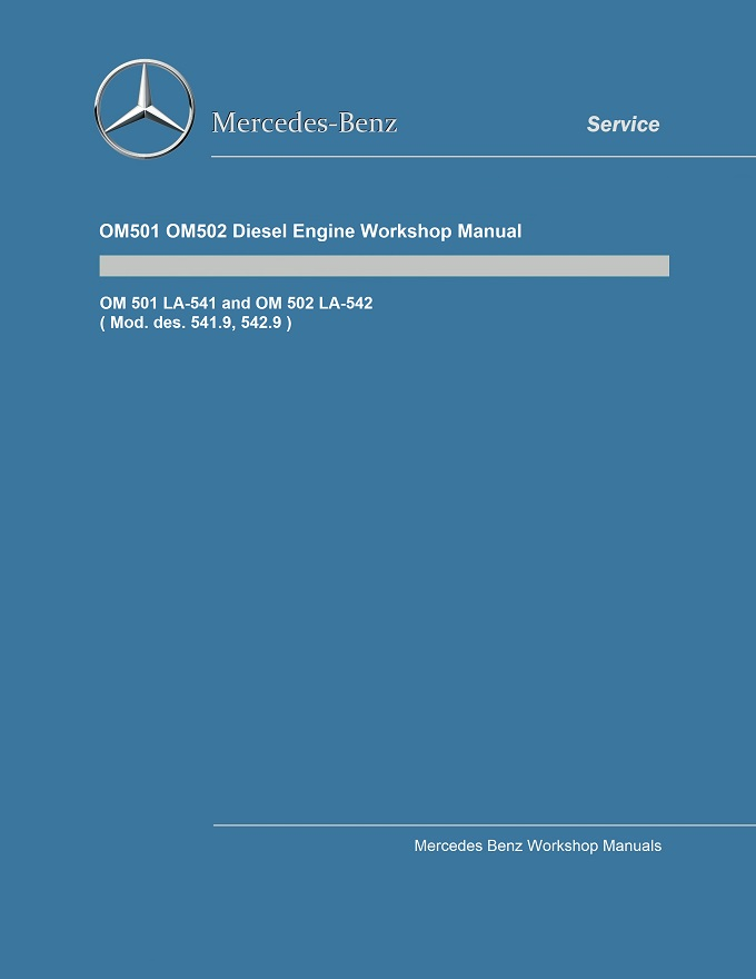 Mercedes Benz OM501 LA Engine Service Repair Manual .pdf