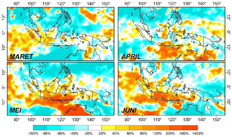 El Nino dan La Nina serta dampaknya di Indonesia (5/5)