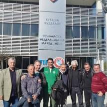 Соработката помеѓу Фудбалските сојузи на Софија и на Кочани е продолжена