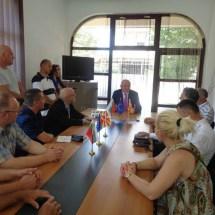 Претседателот на бугарскиот парламент во посета на огранокот на МБП во Охрид