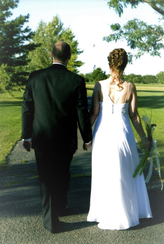 My husband and I both worked as waitstaff and bartenders at Woodbine Golf Club. Working with the owners and staff as an event planner there solidified our decision to hold our wedding at the facility in 2008.