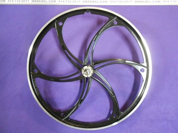 Black Mag Rear Wheel 26 X 2.125 Disc Freewheel