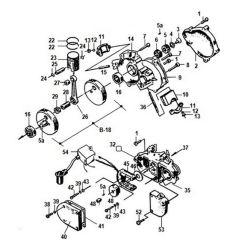 49cc Engine Parts Diagram Motorola Cb Radio Wiring Needle Bearing 48cc 66cc 80cc Motorized Bicycle 14.7mm Long - Mbrebel.com