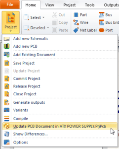 CircuitMaker (1.0) update pcb.PrjPcb Miguel