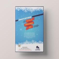 Invitation Buffet de fin d'année