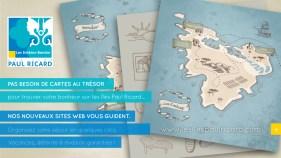 Cover Promo - Nouveaux Sites Web des Iles Paul Ricard