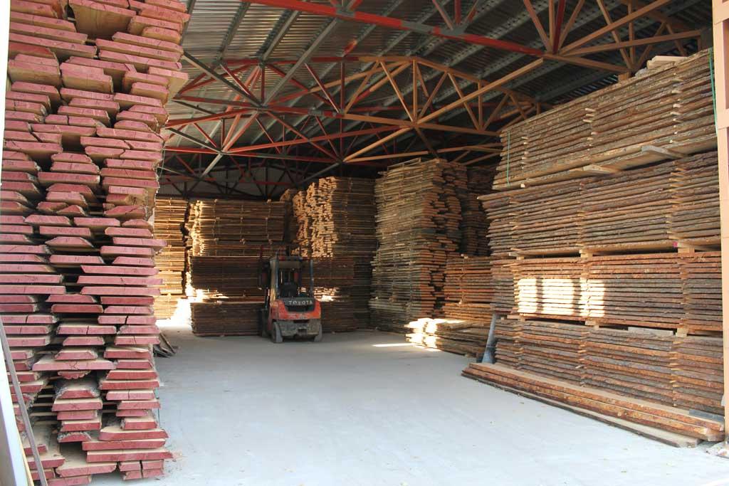 Drogen van hout