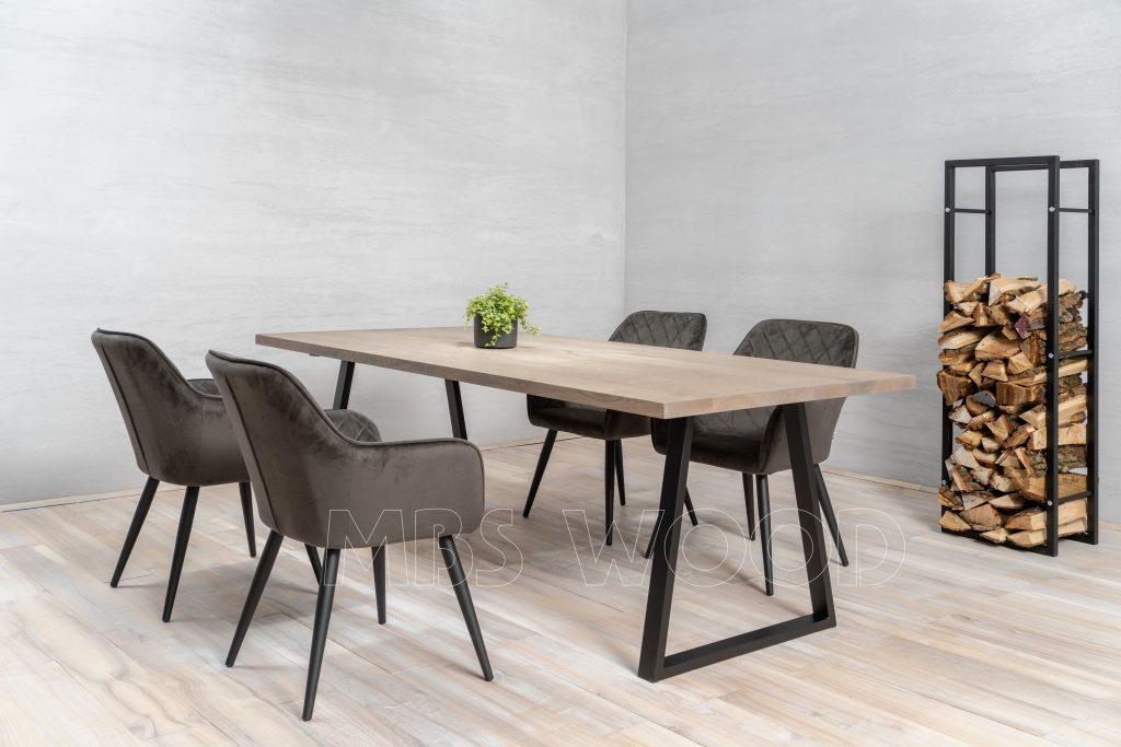 foto oak table view