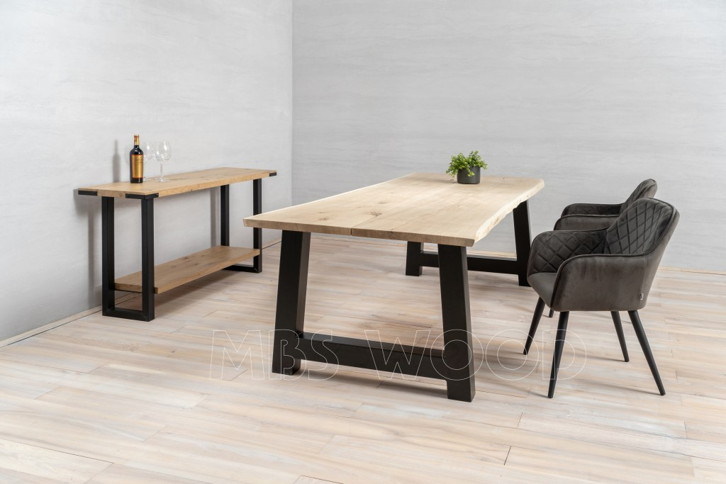 foto dining table oak lounge