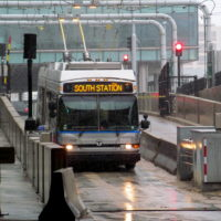 MBTA Silver Line Bus