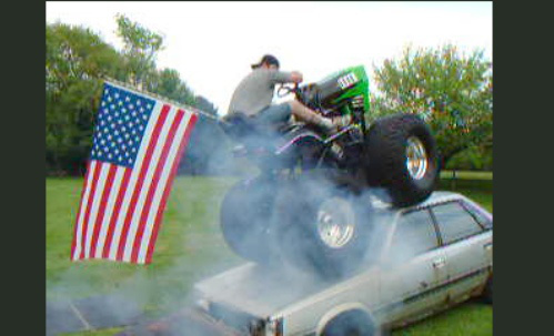 Pimped Out Lawn Mowers  Michael Bradley  Time Traveler