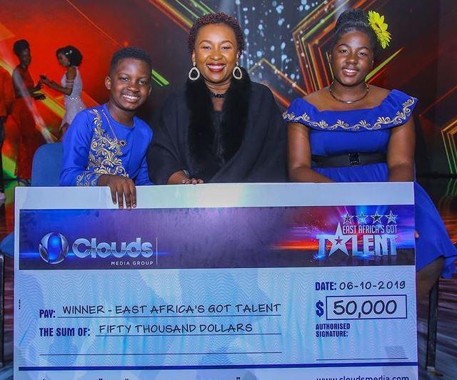East Africa Got Talent' winners Ezekiel and Esther