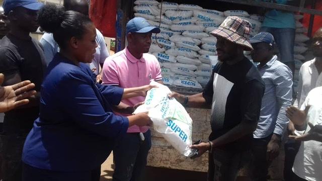 City tycoon SK Mbuga donates food to the needy   COVID-19