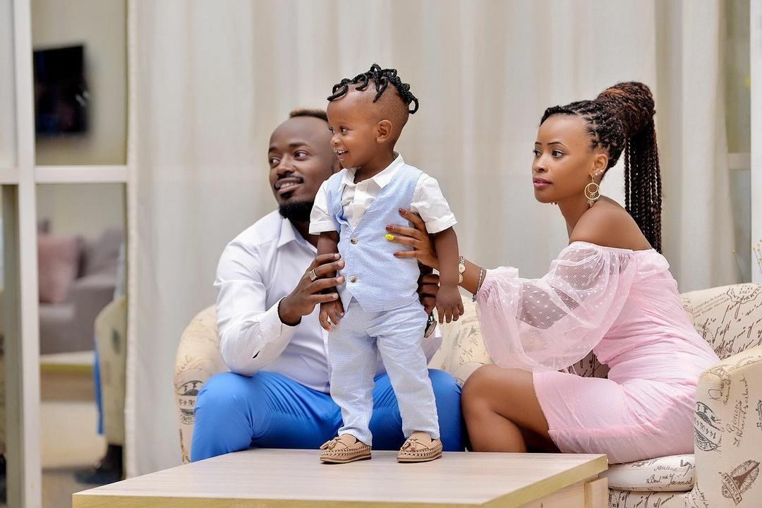 Ykee Benda and Julie have one kid together
