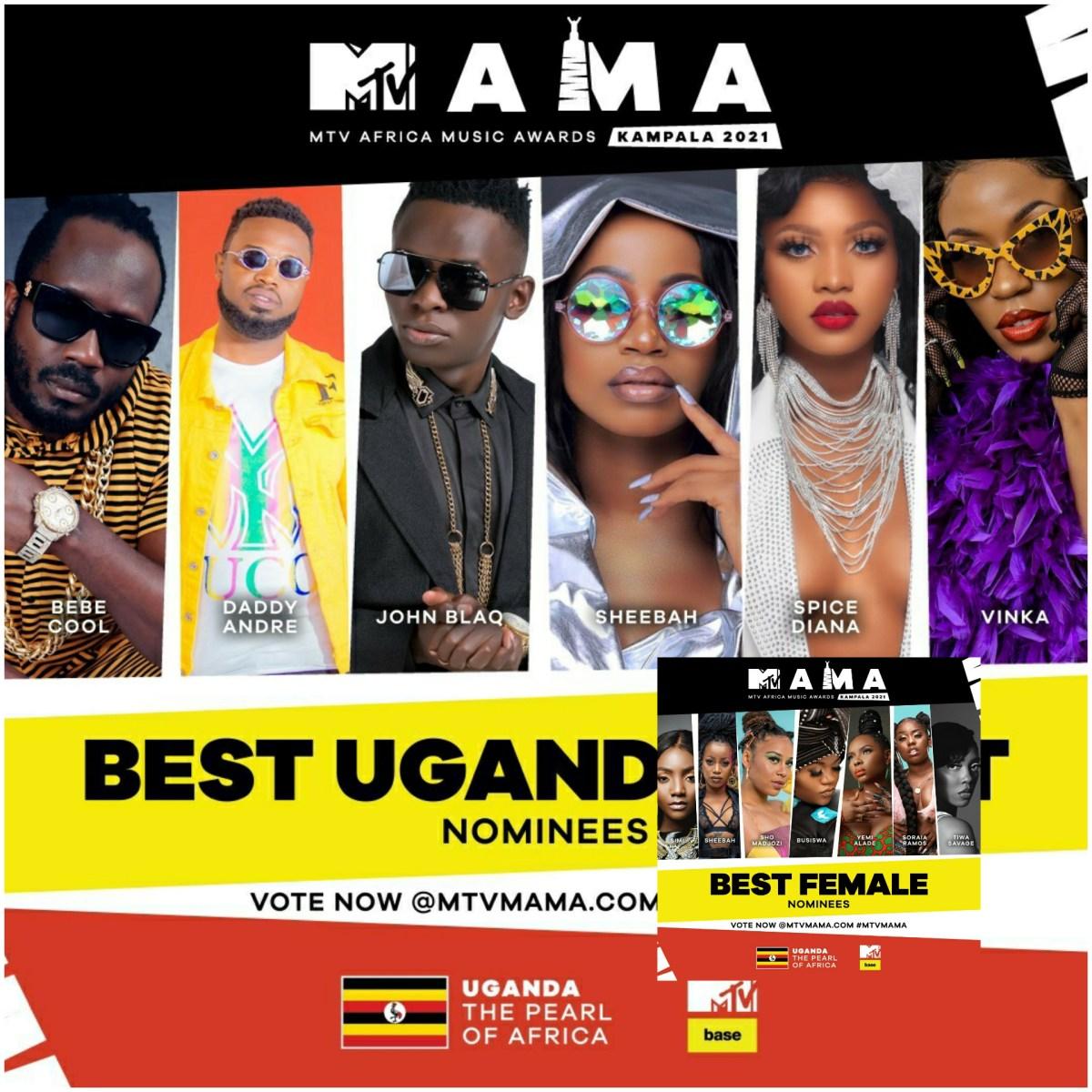 MTV Africa Music Awards 2021: Full nominations list