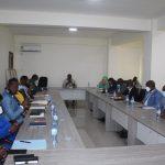 Réunion de restitution du passage du Ministère au QG du Conseil National du Rassemblement et du Développement