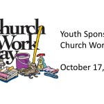 Youth Sponsored Church Work Day