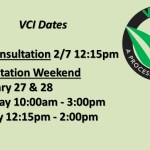 Upcoming VCI Dates