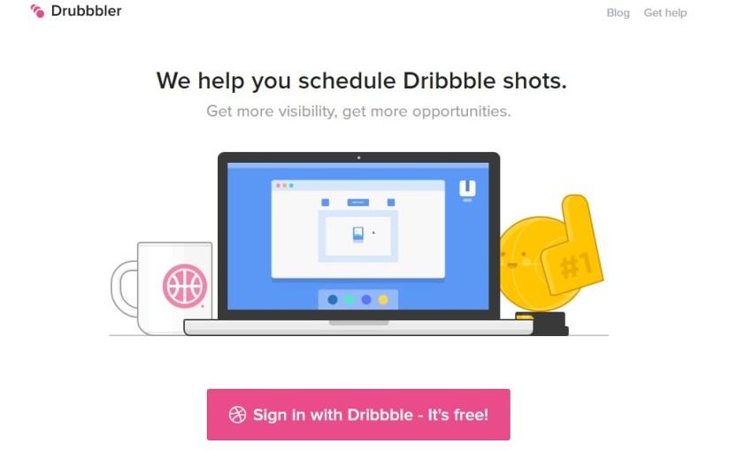 Drubbbler: Dribbble Gönderi Zamanlama Aracı