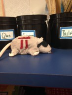 Pi Rat with Organizational Buckets in background