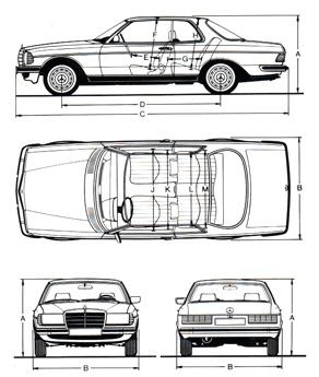 Mercedes Benz W123 Club Bandung