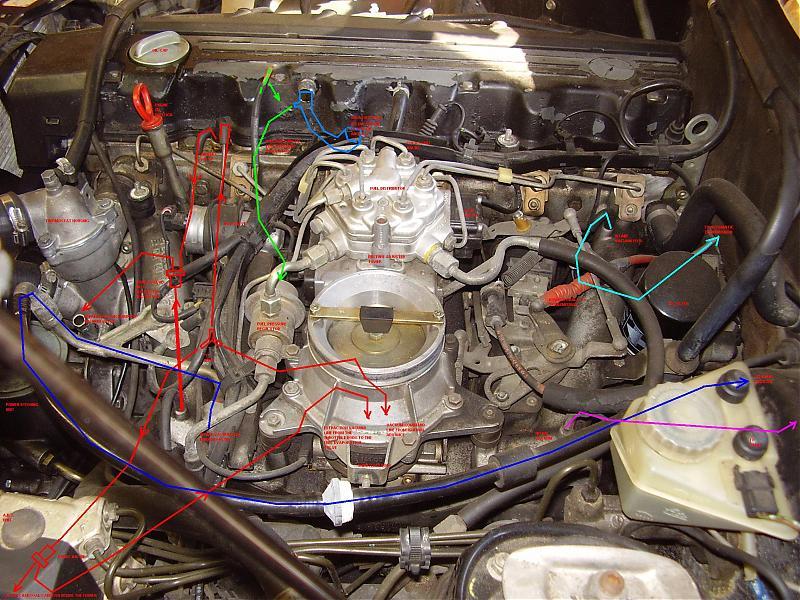 Mercedes 190e 2 6 Engine Diagram Likewise Mercedes Vacuum Diagram