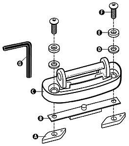 Roof Rack Thread for W203/S203/CL203 & bike/ski mounts
