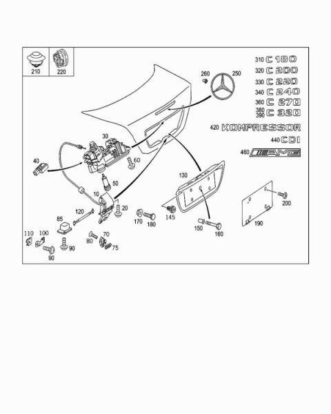 C240 Trunk Lid Wiring Diagram,Trunk • Mifinder.co